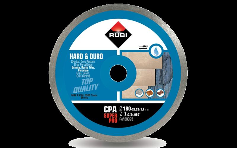 CPA SuperPro<br> Алмазный диск Rubi<br> 180 * 22,2 * 1,7 * 7