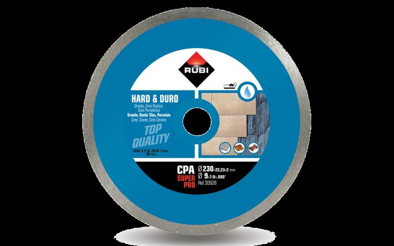 CPA SuperPro<br> Алмазный диск Rubi<br> 230 * 22,2 (25,4) * 2,0 * 7