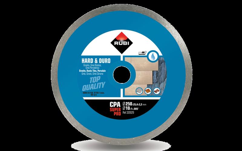 CPA SuperPro<br> Алмазный диск Rubi<br> 250 * 25,4 * 2,2 * 7