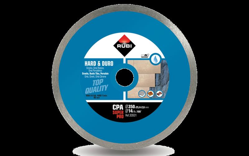 CPA SuperPro<br> Алмазный диск Rubi<br> 350 * 25,4 * 2,6 * 10