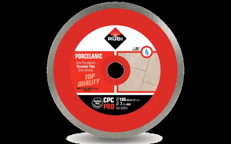 CPC Pro<br> Алмазный диск Rubi<br> 180 * 22,2 (25,4) * 1,7 * 7
