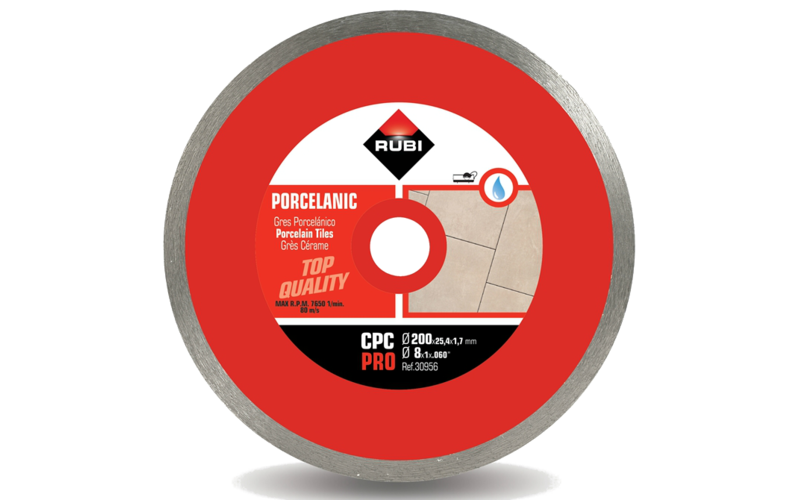 CPC Pro<br> Алмазный диск Rubi<br> 200 * 25,4 * 1,7 * 7