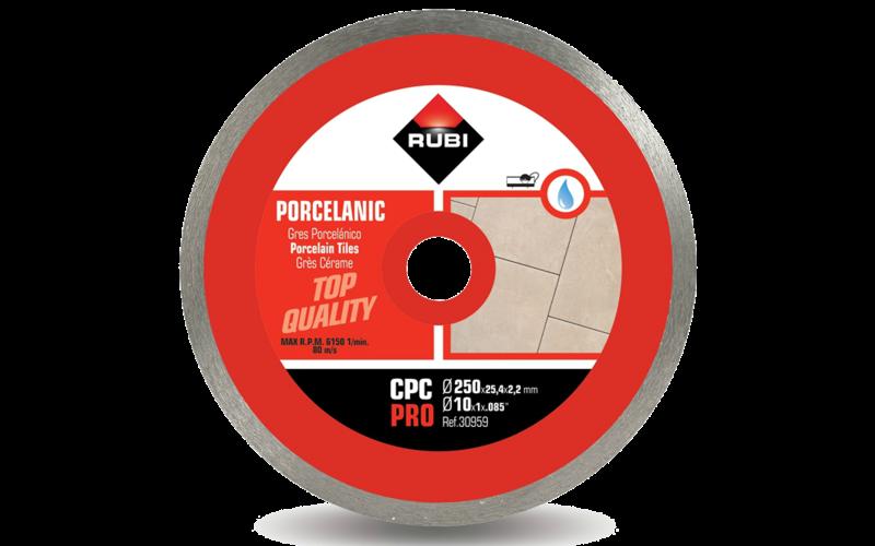 CPC Pro<br> Алмазный диск Rubi<br> 250 * 25,4 * 2,2 * 7