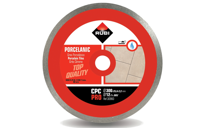 CPC Pro<br> Алмазный диск Rubi<br> 300 * 25,4 * 2,2 * 10