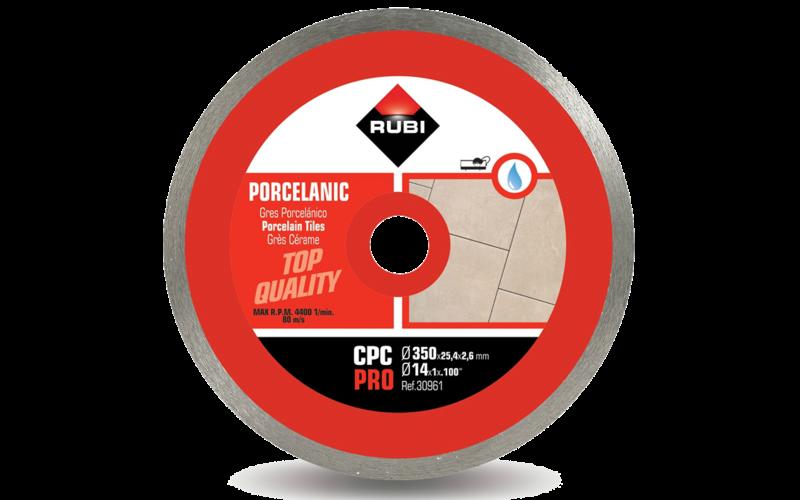 CPC Pro<br> Алмазный диск Rubi<br> 350 * 25,4 * 2,6 * 10