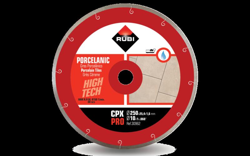 CPX Pro<br> Алмазный диск Rubi<br> 250 * 25,4 * 1,6 * 7