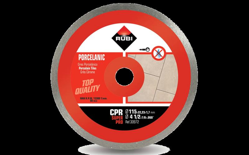 CPR &nbsp;SuperPro<br> Алмазный диск Rubi<br> 115 * 22,2 * 1,7 * 7