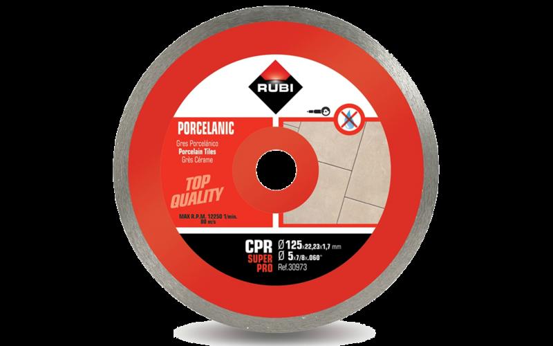 CPR &nbsp;SuperPro<br> Алмазный диск Rubi<br> 125 * 22,2 * 1,7 * 7