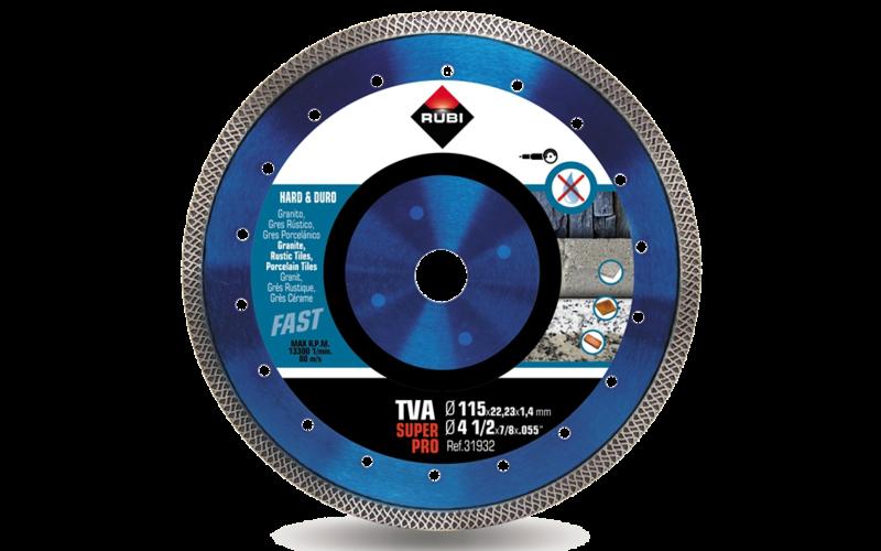 TVA SuperPro<br> Алмазный диск Rubi<br> 115 * 22,2 * 1,4 * 10