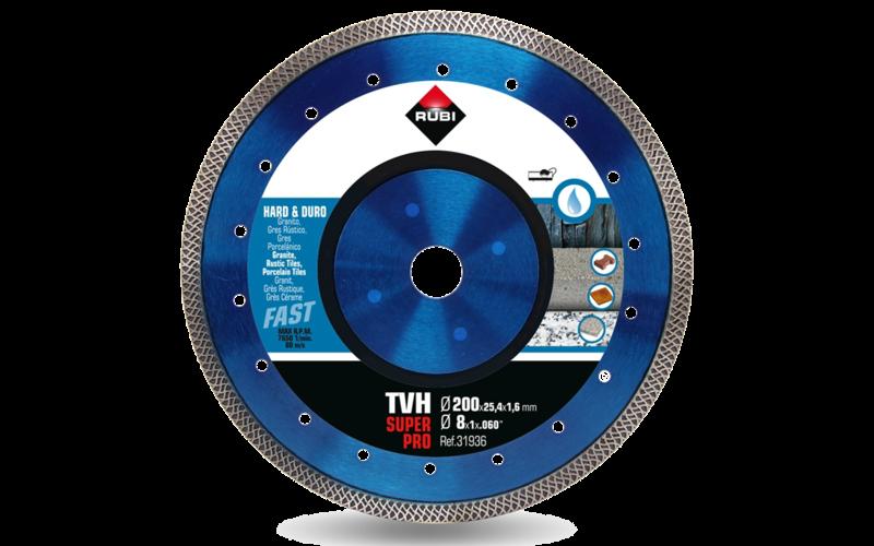 TVH SuperPro<br> Алмазный диск Rubi<br> 200 * 25,4 * 1,6 * 10