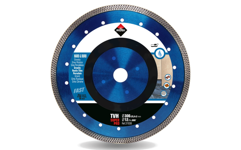 TVH SuperPro<br> Алмазный диск Rubi<br> 300 * 25,4 * 2,0 * 10