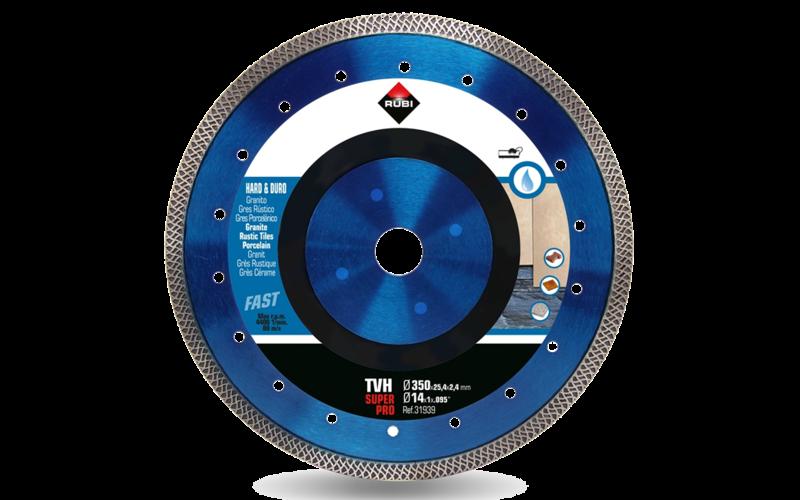 TVH SuperPro<br> Алмазный диск Rubi<br> 350 * 25,4 * 2,4 * 10