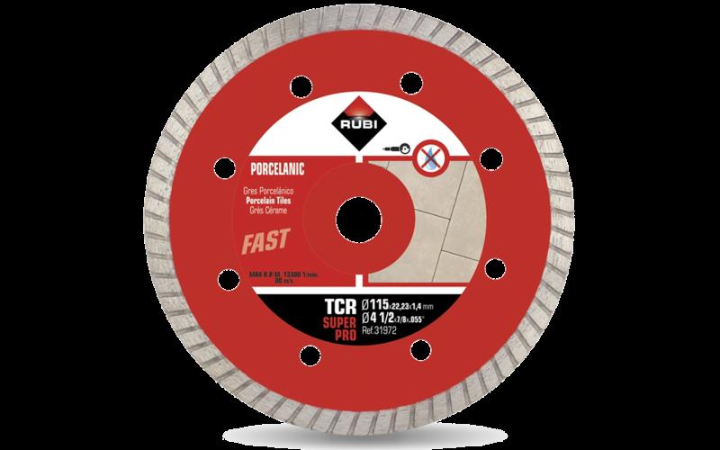 TCR &nbsp;SuperPro<br> Алмазный диск Rubi<br> 115 * 22,2 * 1,2 * 7