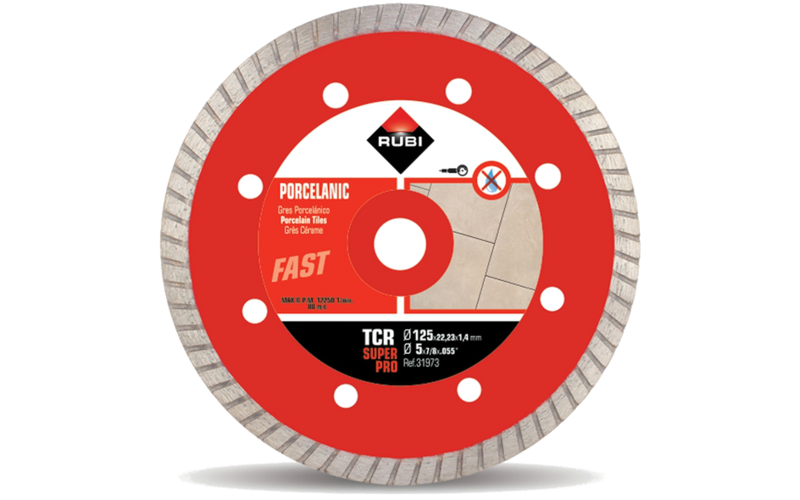 TCR SuperPro<br> Алмазный диск Rubi<br> 125 * 22,2 * 1,2 * 7