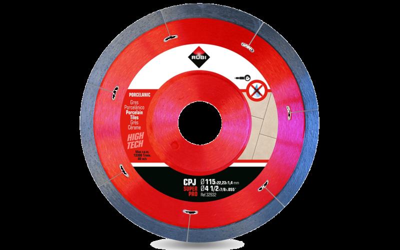 CPJ &nbsp;SuperPro<br/>Алмазный диск Rubi<br/>115 * 22,2 * 1,4 * 7