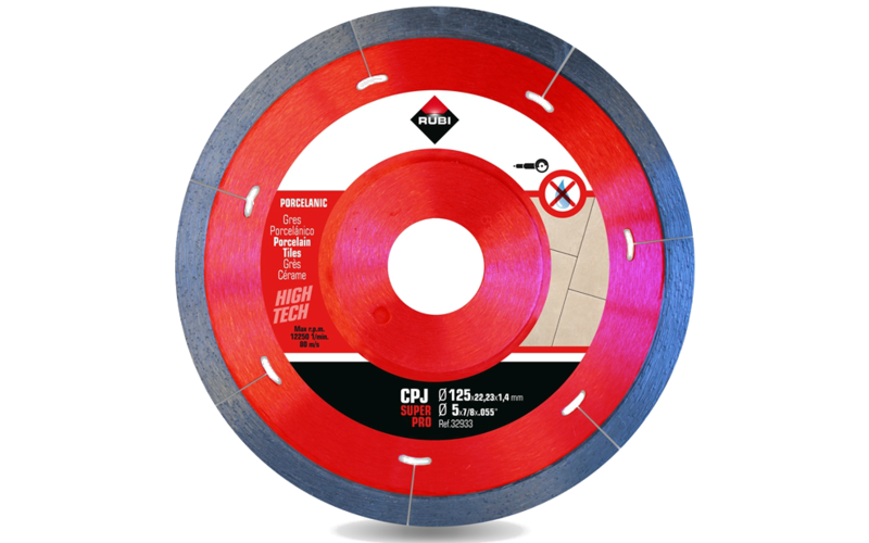 CPJ &nbsp;SuperPro<br> Алмазный диск Rubi<br> 125 * 22,2 * 1,4 * 7