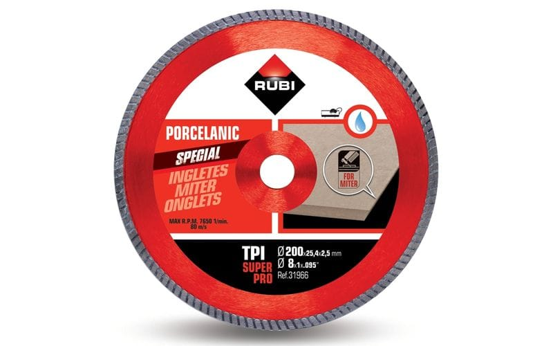 TPI SuperPro<br> Алмазный диск Rubi<br> 200 * 25,4 * 2,5 * 7,5