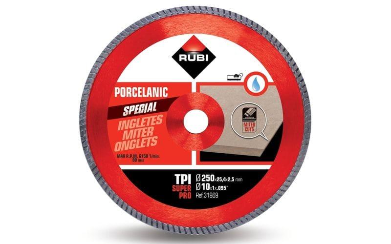 TPI SuperPro<br> Алмазный диск Rubi<br> 250 * 25,4 * 2,5 * 7,5