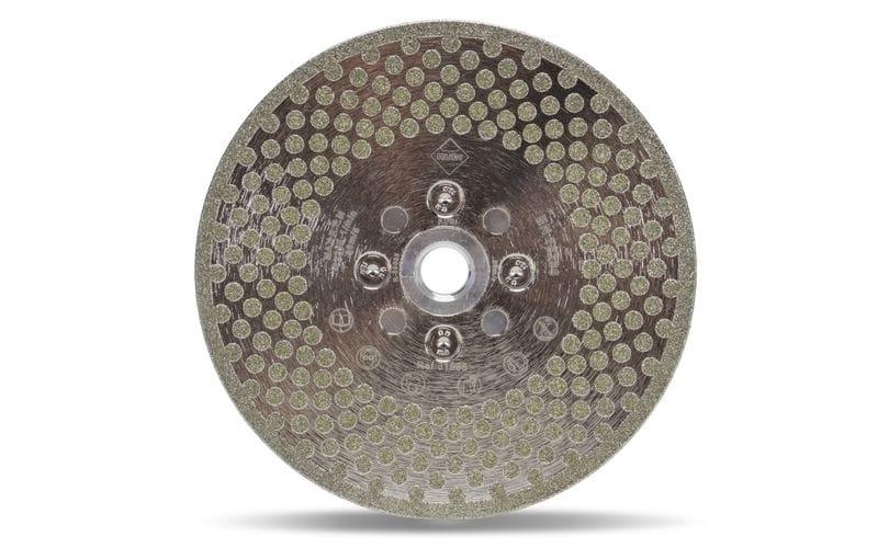 ECD 2 в 1 SuperPro<br> для резки и обработки краёв<br> Ø 125 мм