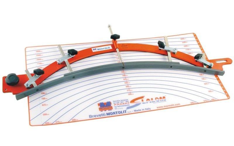 Шаблон для серийных резов<br> для Combi-Slalom Montolit<br> SR000B