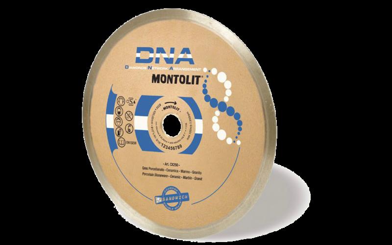 CX DNA<br> Алмазный диск Montolit<br> 250 * 25,4 * 2,0 * 10
