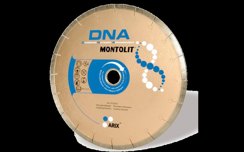 SCX DNA<br> Алмазный диск Montolit<br> 200 * 25,4 * 2,0 * 8