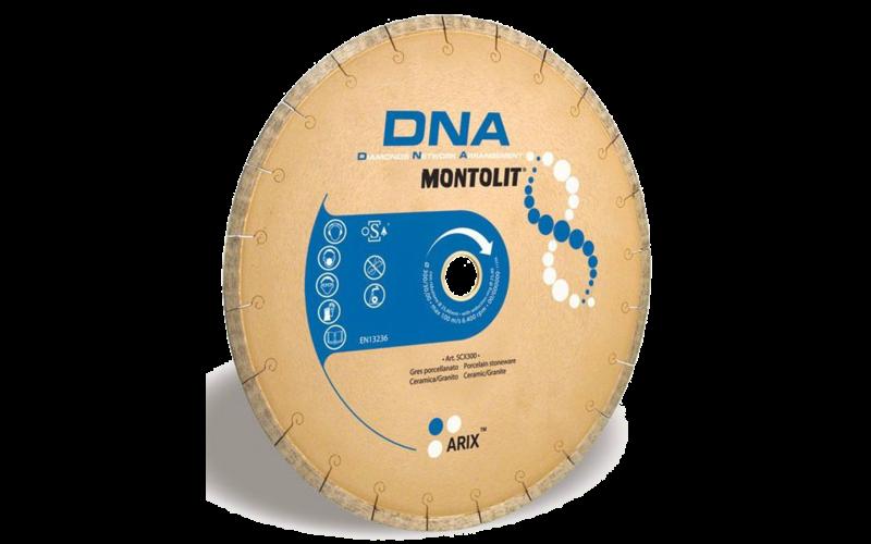 SCX DNA<br> Алмазный диск Montolit<br> 300 * 25,4 * 2,4 * 8