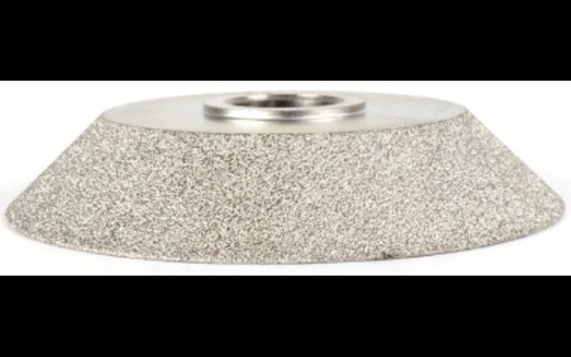 FPE15SPGF для фаски 15 мм<br> алмазная фреза Montolit<br> Fine - мелкая зернистость