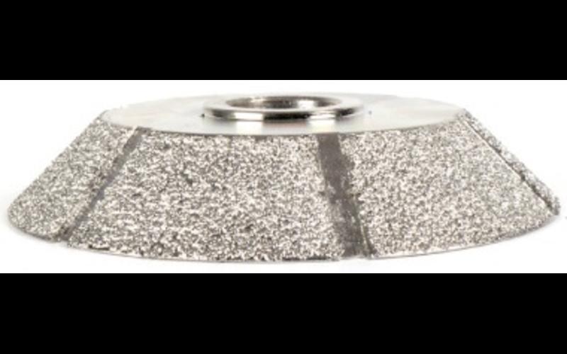 FPE15SP для фаски 15 мм<br> алмазная фреза Montolit<br> Medium - средняя зернистость