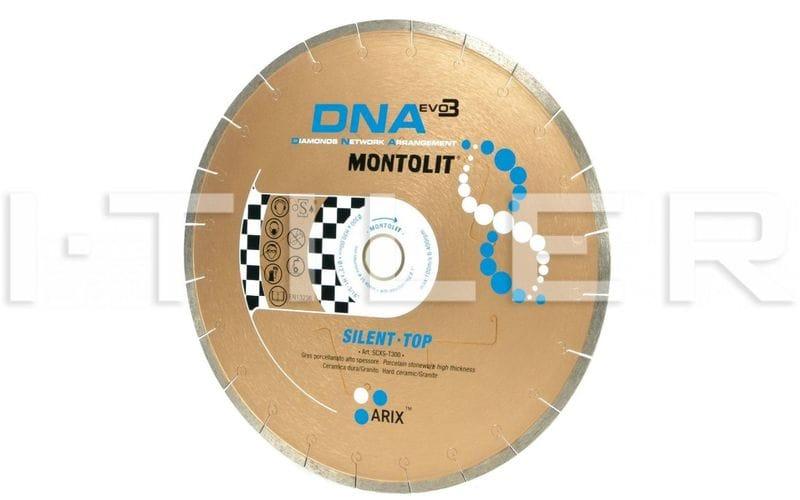 SCXS-T DNA<br> Алмазный диск Montolit<br> 200 * 25,4 * 2,0 * 9