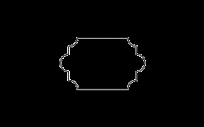 Y-3 мм - 200 шт.<br> для фигурной плитки (арабеска)<br> Raimondi, Италия