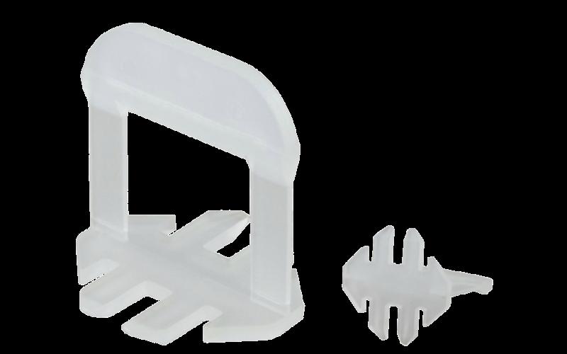 Стойки 1 мм плитка 3-12 мм<br> Karofit  LS<br> 250 шт.