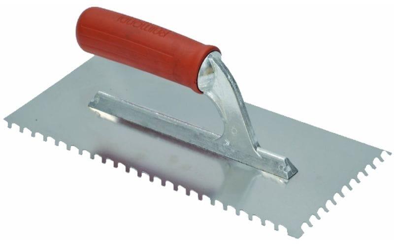 Гребёнка с наклонными зубьями<br> INOX 28 х 13 см<br> 6*6 мм