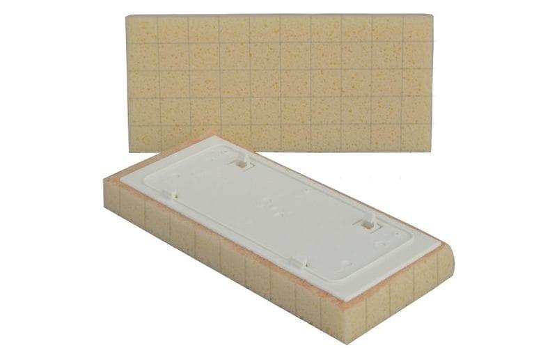 SWEEPEX сменная губка<br> с разрезами<br> 13 × 30 × 3 см
