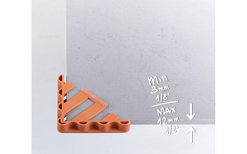 Уголки-протекторы<br> для большеформатных плит