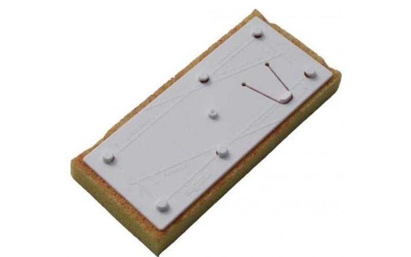 Сменная губка<br/>высокой абсорбции<br/>для очистки швов