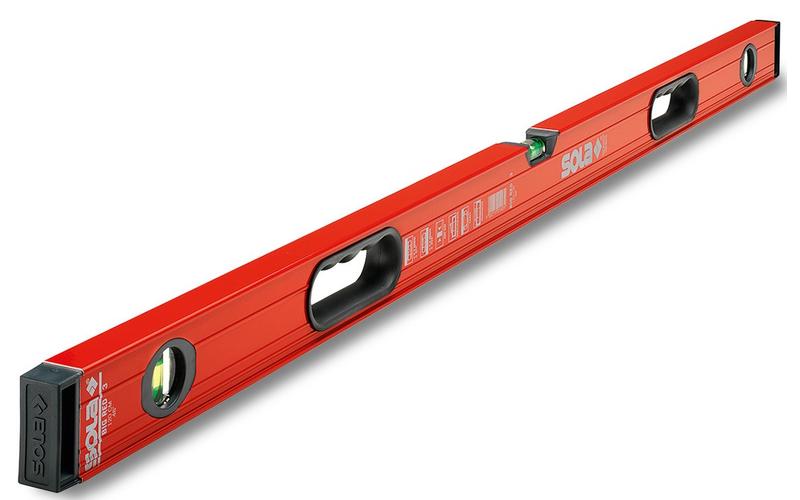 SOLA серия Big Red - 3 колбы<br> уровень строительный<br> 120 см