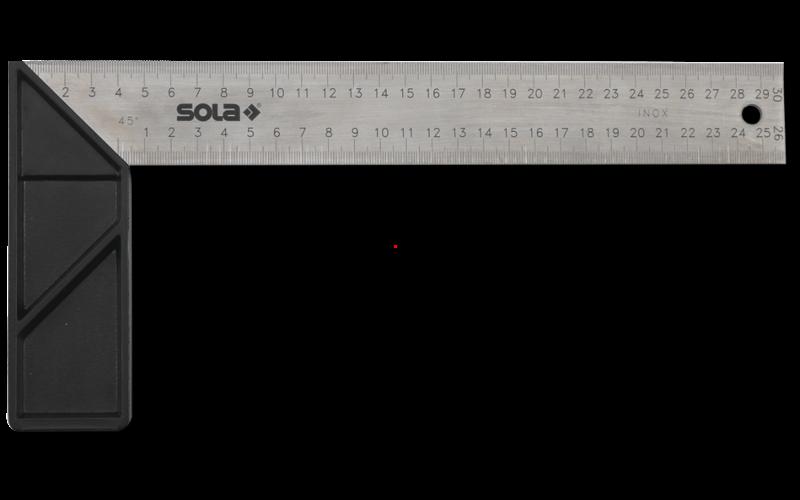 Sola угольник для плиточников<br> выгравированная разметка<br> 250 мм * 145 мм