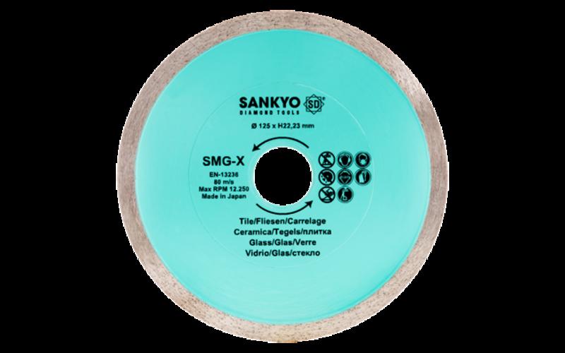 SANKYO серия SM-GX</br>алмазный диск</br>85 * 22,2 (15) * 1,2 * 4