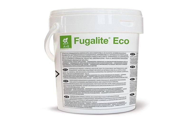 Fugalite Eco<br> эпоксидная затирка Kerakoll<br> 01 - White &nbsp;3 кг