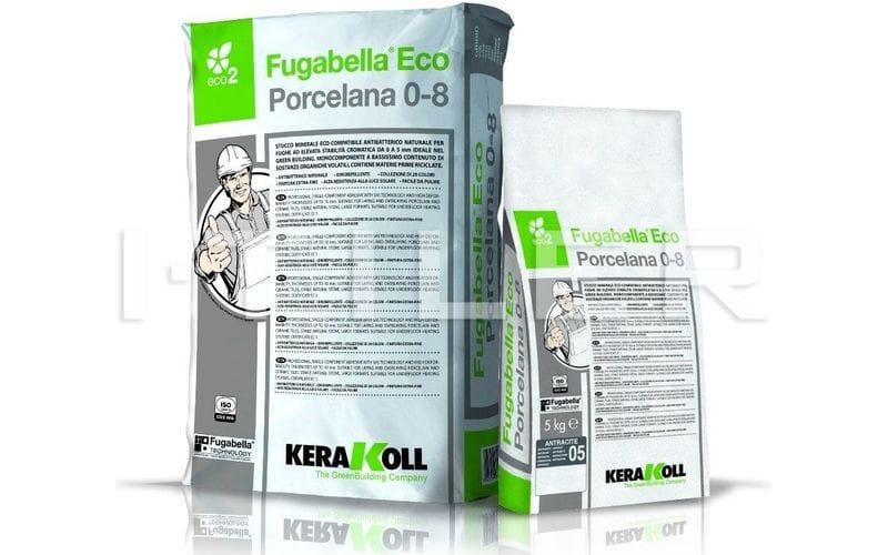 Fugabella Eco Porcelana 0-8<br> цвет: 01 - White<br> 25 кг