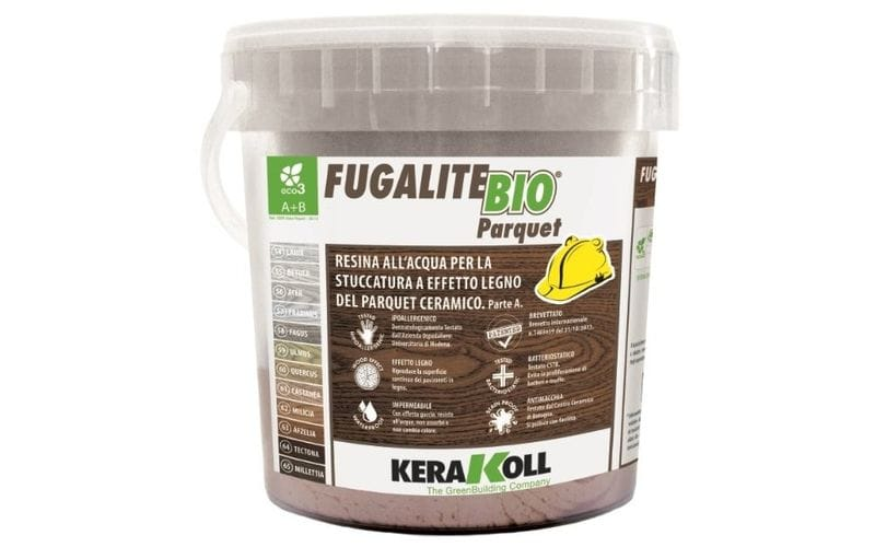 Fugalite Bio Parquet<br> эпоксидная затирка Kerakoll<br> 54 - Larix 3 кг
