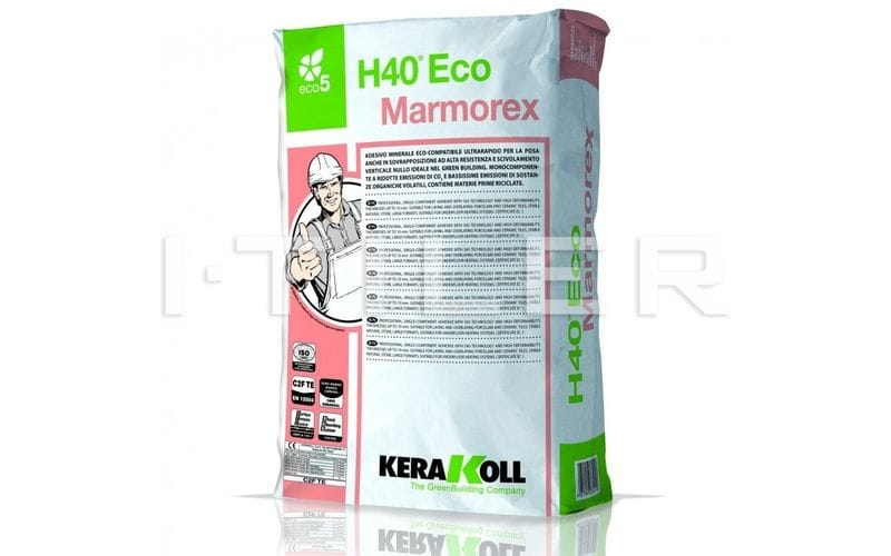 H40 Eco Marmorex<br> <br> White  |  25 кг