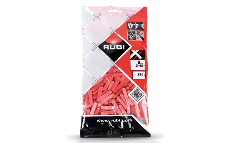 0-5 мм - 250 шт.<br> клинья для плитки<br> Rubi, Испания | 02396