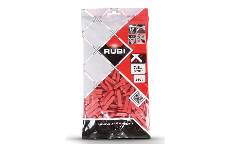 0-7,5 мм - 250 шт.</br>Клинья для плитки RUBI