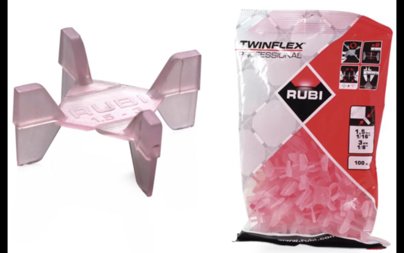 1,5-3 мм - 100 шт., пакет<br> расшивки TwinFlex<br> Rubi, Испания | 02957