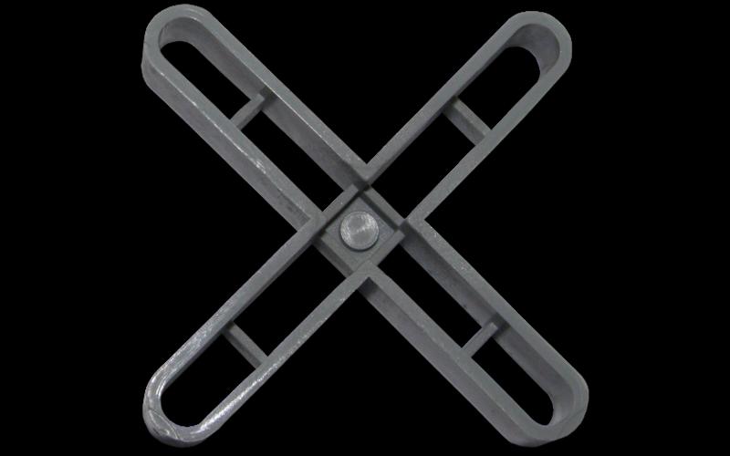 5 мм - 100 шт.<br> Крестики для плитки RUBI<br> 02903