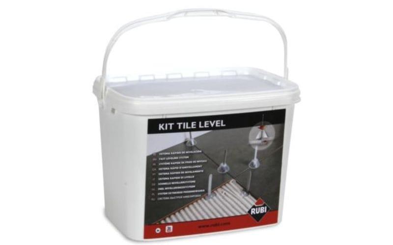 Tile Level RUBI<br> Набор: зажим, стойки 100 шт., колпаки 100 шт.