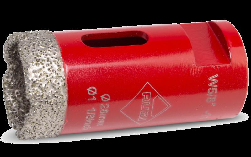 Ø 28 мм<br> Алмазная коронка RUBI<br> Dry Gres