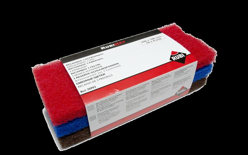 Насадки для очистки керамики<br> мягкая / средняя / жёсткая<br> 20902